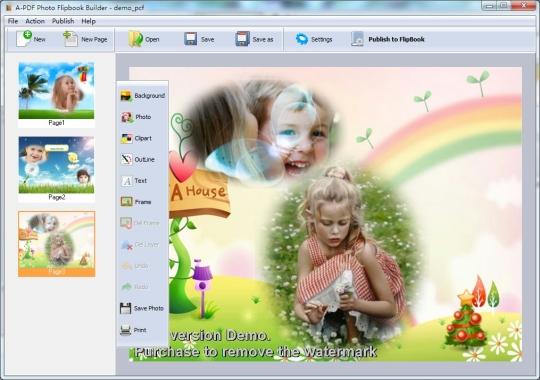 A-PDF Photo Flipbook Builder