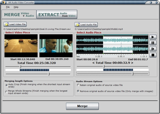A4 Audio Video Converter