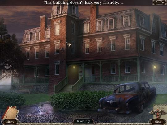 Abandoned Chestnut Lodge Asylum