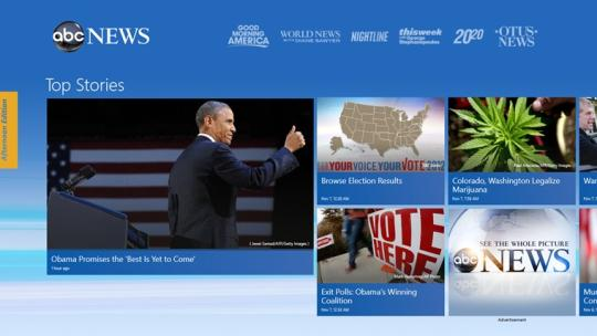 ABC News for Windows 8