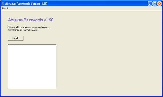 Abraxas Passwords