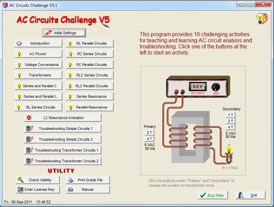 AC Circuits Challenge