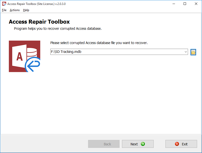 Access Repair Toolbox