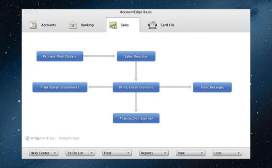 AccountEdge Basic v2