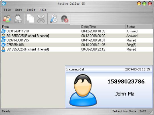 Active Caller ID