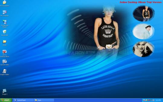 Active Desktop Album