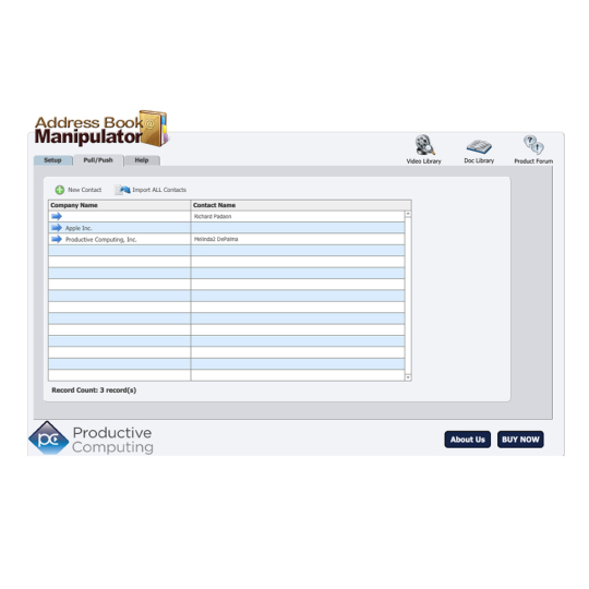 Address Book Manipulator