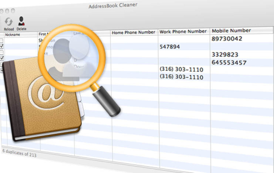 AddressBook Cleaner