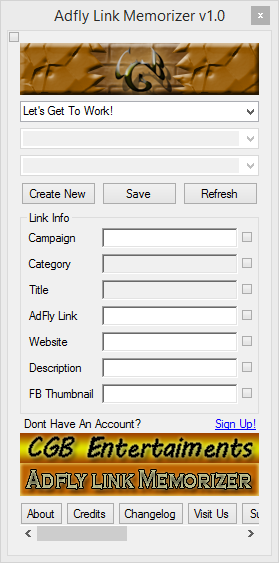 Adfly Link Memorizer