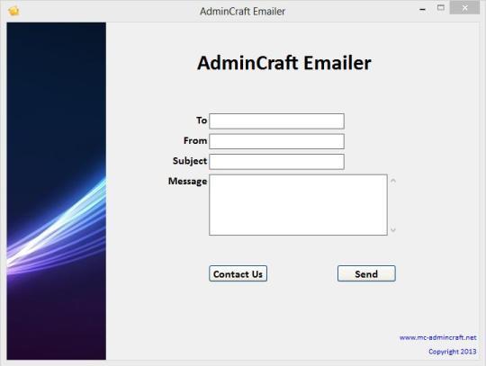 AdminCraft Emailer