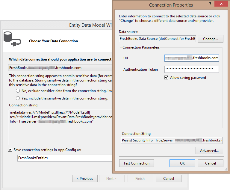 ADO.NET Provider for FreshBooks