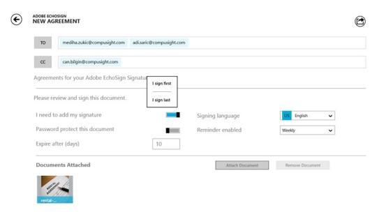 Adobe EchoSign for Windows 8