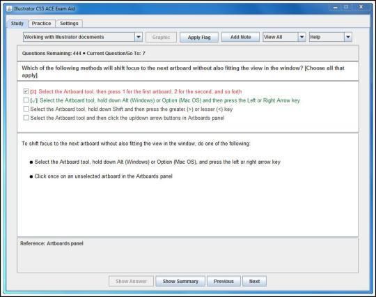 Adobe Illustrator CS5 ACE Exam Aid