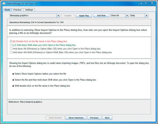Adobe InDesign CS5 ACE Exam Aid