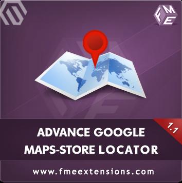 Advance Google Maps Magento Extension