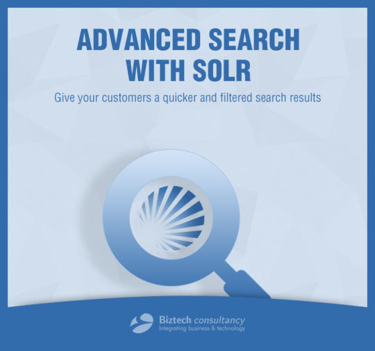 Advance Search with Solr Extension