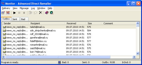 Advanced Direct Remailer
