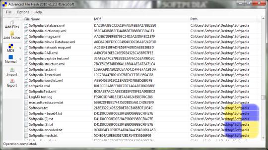 Advanced File Hash Portable