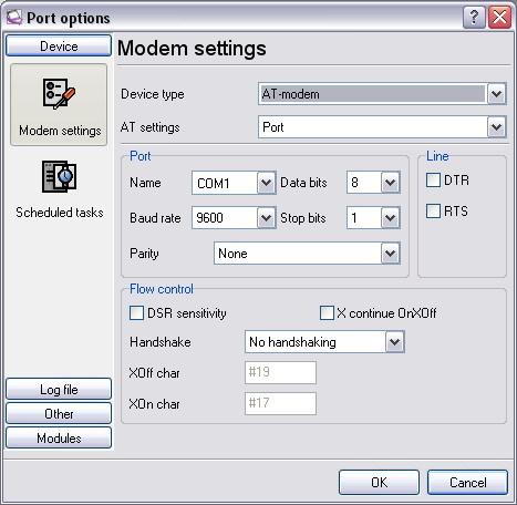 Advanced Modem Data Logger