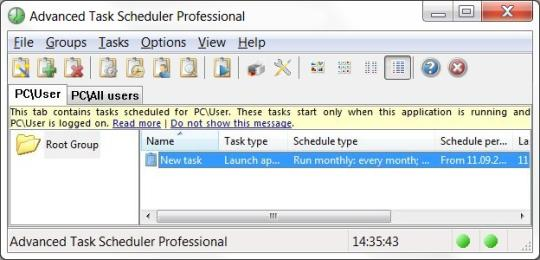Advanced Task Scheduler Professional