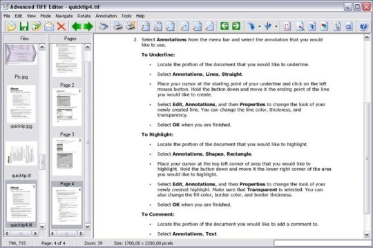 Advanced TIFF Editor Plus