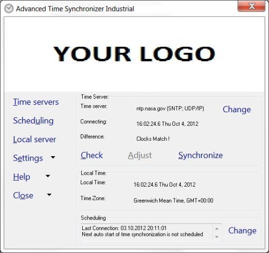 Advanced Time Synchronizer Industrial
