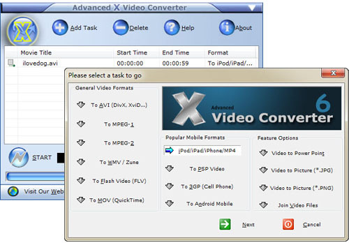 Advanced X Video Converter