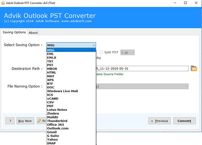 Advik Outlook PST Converter