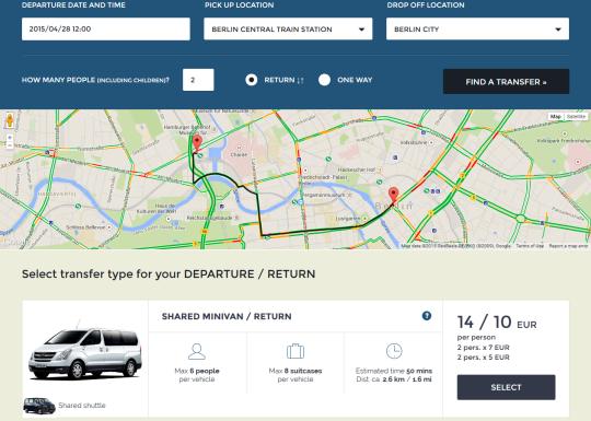 Airport Transfer Portal Responsive
