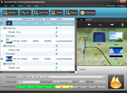 Aiseesoft AVI to DVD Converter
