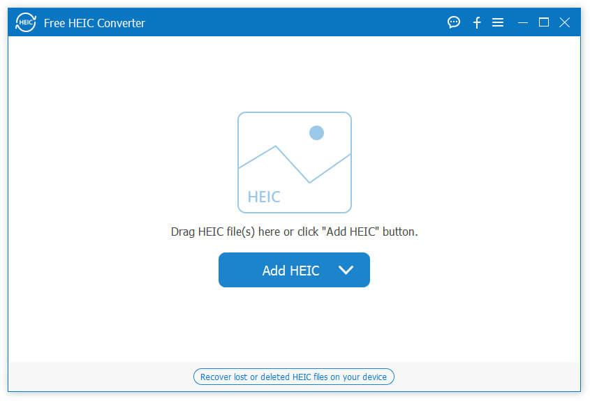 Aiseesoft Free HEIC Converter