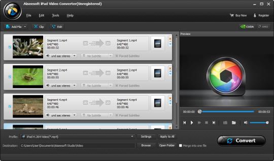 Aiseesoft iPad 3 Video Converter
