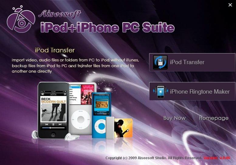 تحميل مجاني Aiseesoft iPod + iPhone PC Suite إلى Windows 8