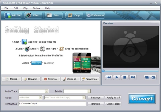 Aiseesoft iPod touch Video Converter
