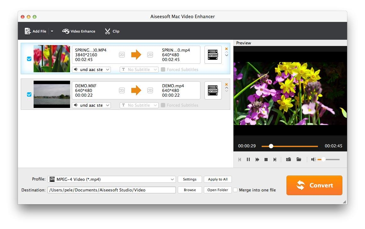 Aiseesoft Mac Video Enhancer