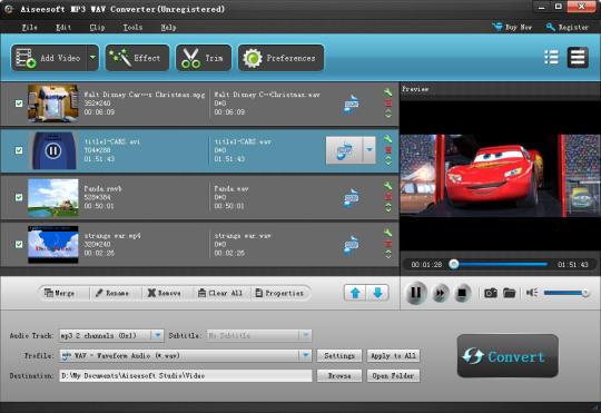 Aiseesoft MP3 WAV Converter