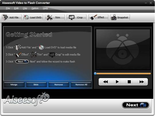 Aiseesoft Video to Flash Converter