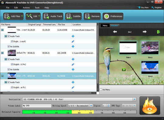 Aiseesoft YouTube to DVD Converter