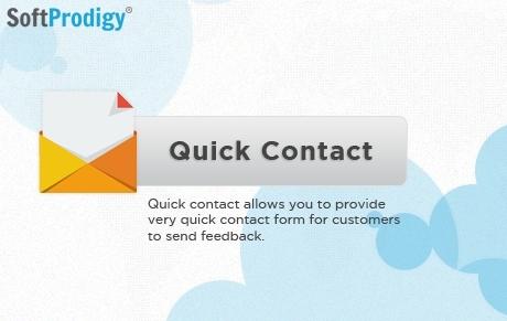 Ajax Quick Contact