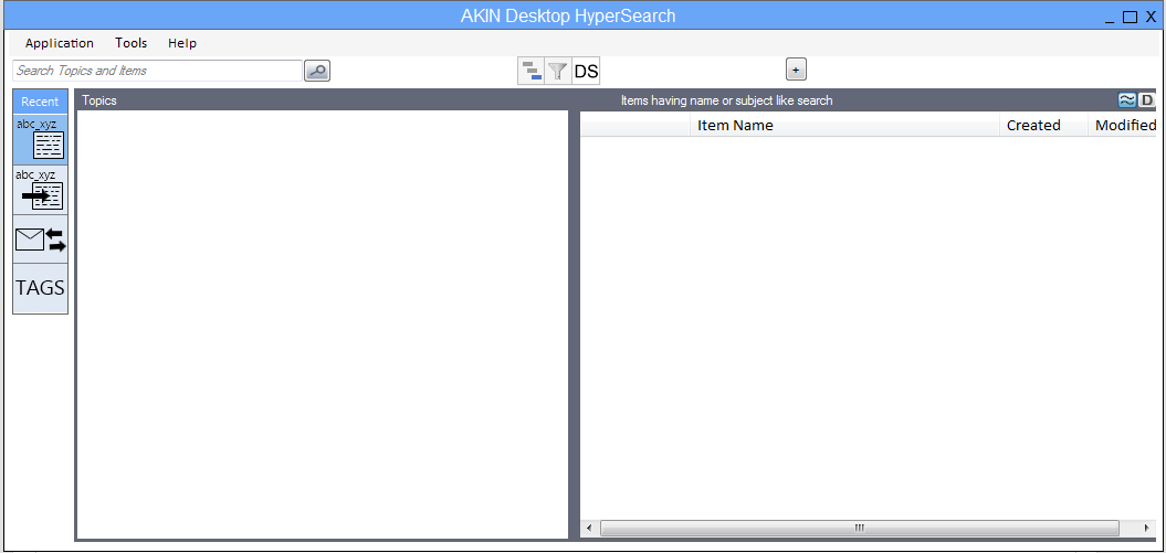 AKIN Desktop Search (HyperSearch)