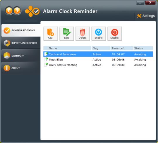 Alarm Clock Reminder