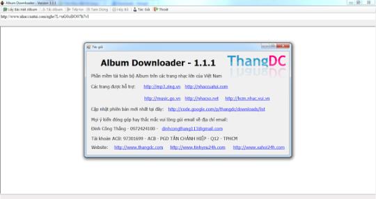 Album Downloader