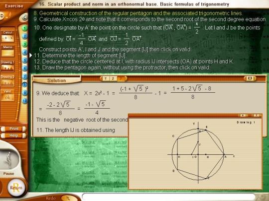 Algebra 3: Analysis, vectors, trigonometry