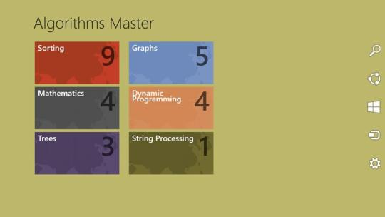 Algorithms Master for Windows 8