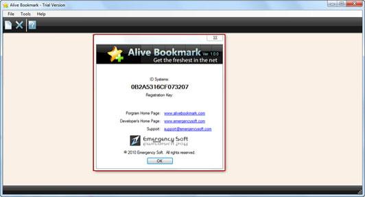 Alive Bookmark