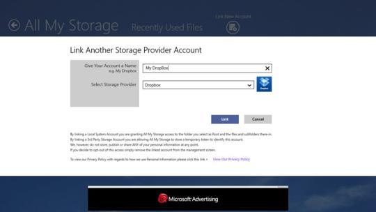 All My Storage Pro for Windows 8