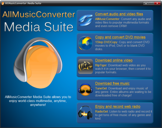 AllMusicConverter Media Suite