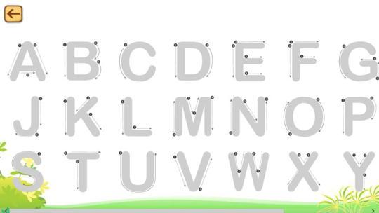 Alphabets Writing for Windows 8