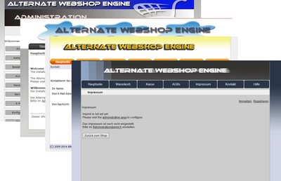 Alternate WebshopEngine Lite