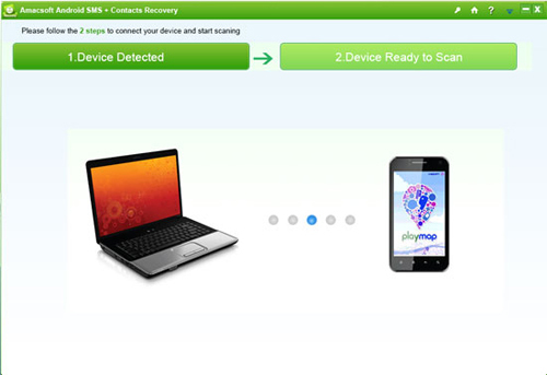 Amacsoft Android SMS And Contacts Recovery
